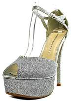 Chinese Laundry This Time Open Toe Synthetic Platform Heel.