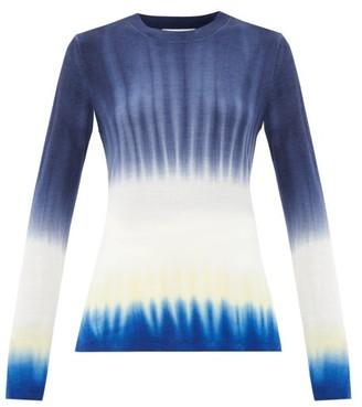 Gabriela Hearst Miller Soffio Tie-dye Cashmere Sweater - Blue Navy