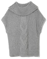 Vince Camuto Two by Short-sleeve Turtleneck Sweater