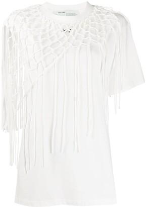 Off-White crochet layer arrow T-shirt