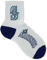 For Bare Feet Seattle Mariners Ankle White 501 Medium Socks