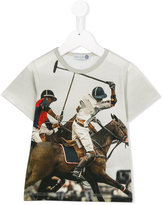 MonnaLisa Polo print T-shirt - kids - Cotton - 6 yrs