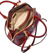 Prada Saffiano Vernice Small Round Top-Handle Bag