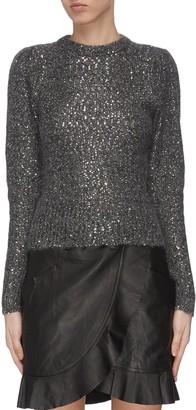 Frame Sequin crewneck sweater