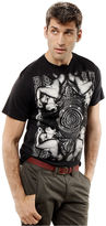 Ecko Unlimited T-Shirt, Too Greedy Short Sleeve Graphic