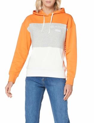 Gant Women's D1 Stripe Hoodie Sweat