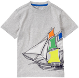 Gymboree Heather Gray Ship Sketch Tee - Boys