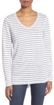 Eileen Fisher Women's Stripe Organic Linen Jersey Tunic