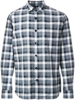 Kent & Curwen buffalo check shirt