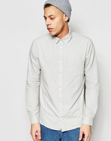 Cheap Monday Regular Shirt Bolt Oxford One Pocket In Dirty White
