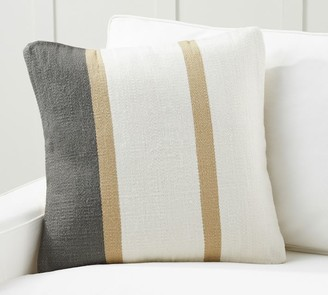 Pottery Barn Theo Striped Pillow Cover