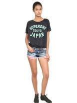 Superdry Raw Cut Cotton Fleece Sweatshirt