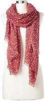 Gap Wool ditsy floral scarf
