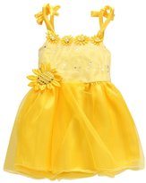 Norbi Baby Girls Floral Lace Princess Tulle Party Dress