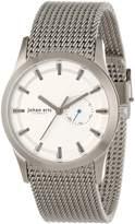 Johan Eric Men's JE1300-04-001 Agersø Stainless Steel Dial Date Mesh Bracelet Watch