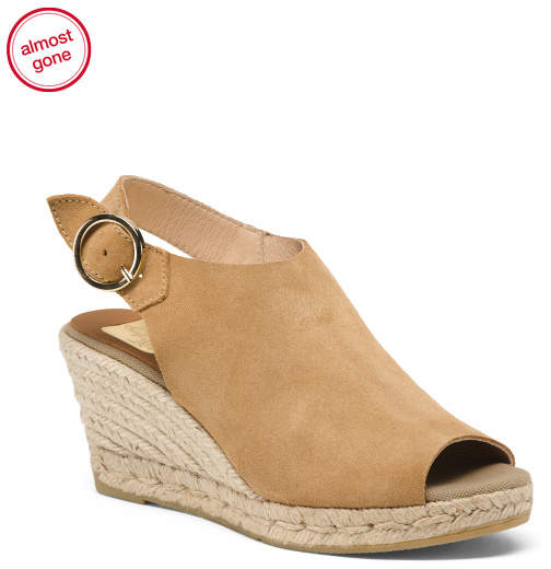 1b3f1a7ef5f Made In Spain Suede Espadrille Sandals
