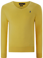 Polo Ralph Lauren Slim Fit V Neck Jumper