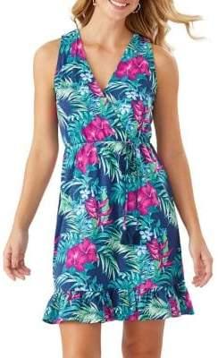 Tommy Bahama Hello Hibiscus Cotton-Blend Sundress