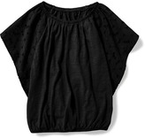 Old Navy Flutter-Sleeve Top for Girls