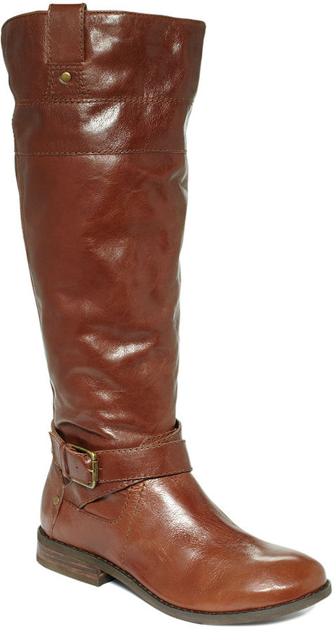 Marc Fisher Shoes, Arty Tall Wide Calf Riding Boots