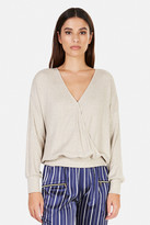 L'Agence Amber Wrap Top