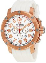 TW Steel Men's TW133 Grandeur Tech Rubber Chronograph Dial Watch