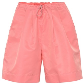 STAUD Coconut high-rise shorts