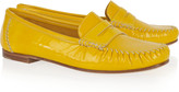 Brian Atwood Hampton patent-leather penny loafers