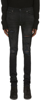 Amiri Black Thrasher Plus Jeans
