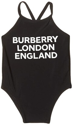 BURBERRY KIDS Crina BLE Swimsuit (Infant/Toddler) (Black) Girl's Swimsuits One Piece