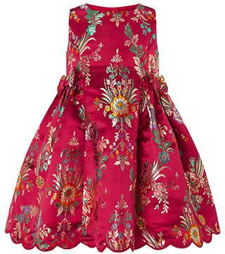Monsoon Baby Folk Jacquard Dress