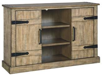 Signature Design by Ashley Susandeer Accent Cabinet - Brown