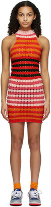 AGR Multicolor Striped Punky Dress
