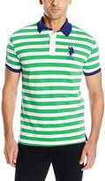 U.S. Polo Assn. Men's Slim Fit Shadow Stripe Polo Shirt