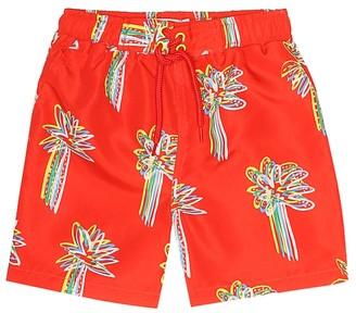 Stella McCartney Printed swim shorts