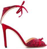 Jimmy Choo Talaya 100mm crystal sandals