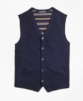 Brooks Brothers Merino Wool Waistcoat Vest