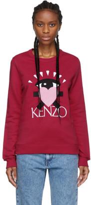 Kenzo Pink Limited Edition Cupid Eye Sweatshirt