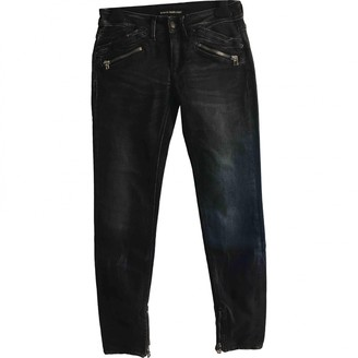 Drykorn Anthracite Cotton Jeans for Women