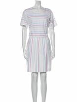 Thumbnail for your product : Lake Studio Striped Mini Dress White