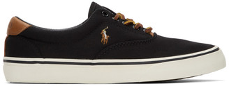 Polo Ralph Lauren Black Thornton Sneakers