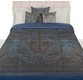 Etro Borgetto Quilted Bedspread - 270x270cm - Blue