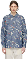 Rag & Bone Indigo Flower Mace Shirt