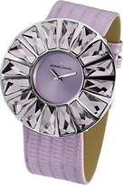 Jacques Lemans Flora 1-1638F Ladies Purple Leather Strap Watch