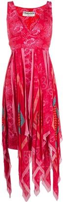 Le Petite Robe Di Chiara Boni Floral Print Asymmetric Dress