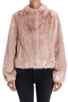 Patrizia Pepe Women's Pink Acrylic Jacket.