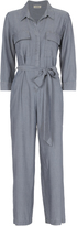 L'Agence Delia Chambray Jumpsuit