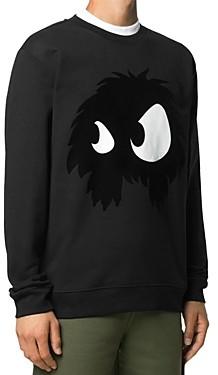 McQ Chester Cotton Logo Graphic Sweatshirt