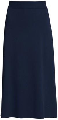 The Row Araceli Knit A-Line Skirt