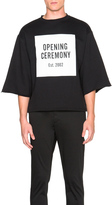 Opening Ceremony Logo Cut Off Sweat Tee